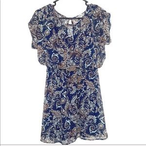 Accidentally in Love boho dress with cap sleeves